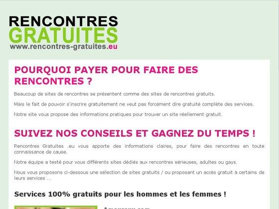 rencontres gratuites pour les femmes Marseille