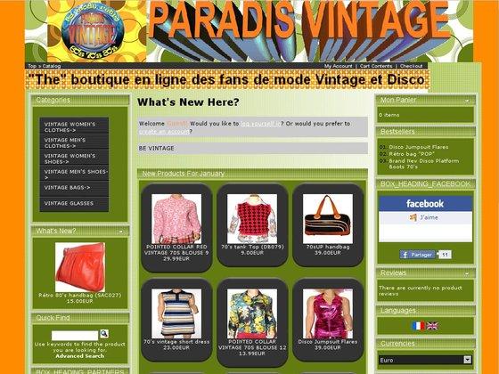 La boutique vintage et disco en ligne - Magasin vintage en ligne ...