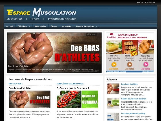 Espace Musculation : 100 % Musculation
