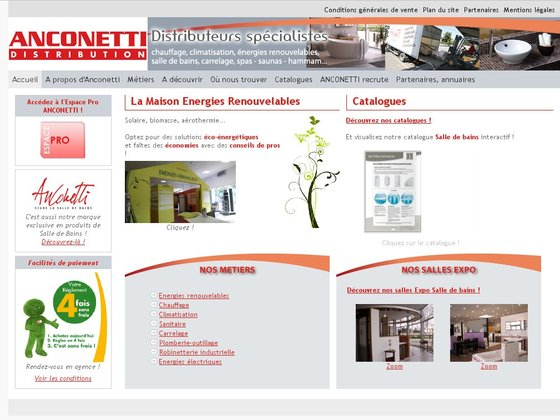 Anconetti Distribution