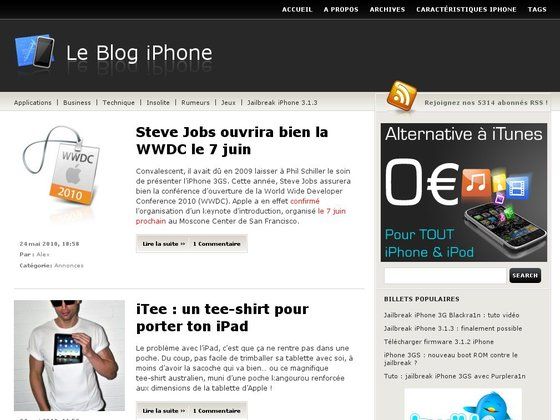 Le Blog iPhone