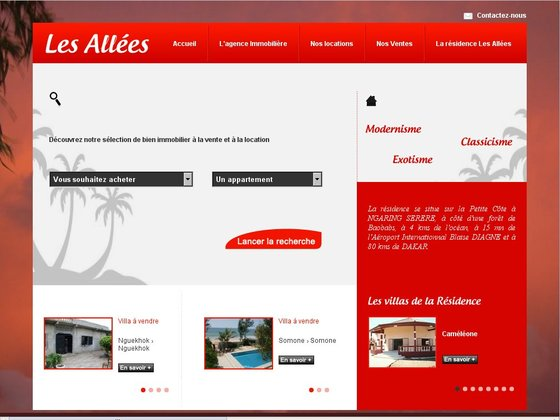 Les all es agence immobili re au s n gal petite c te for Agence immobiliere dakar