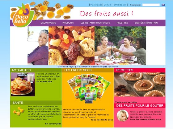 Daco France, importateur et conditionneur de fruits secs