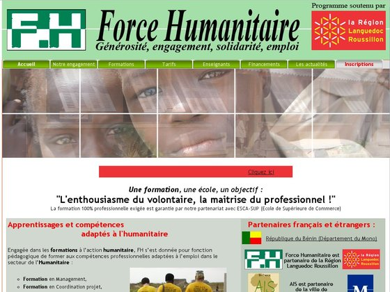 Formation Humanitaire