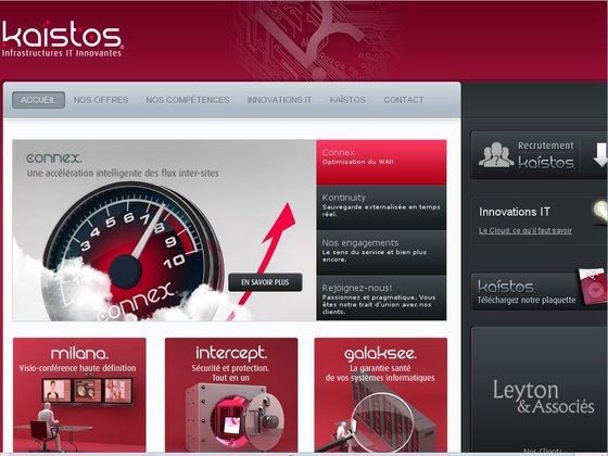 Kaïstos - Solutions IT, Optimisation, Protection & Sauvegarde de données