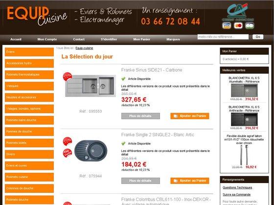 Equip cuisine vente d 39 quipement de cuisine en ligne for Materiel de cuisine en ligne