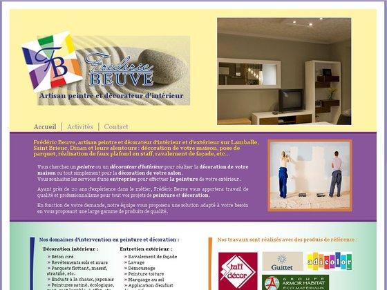Artisan peintre et d corateur d 39 int rieur fr d ric beuve for Peintre decorateur interieur