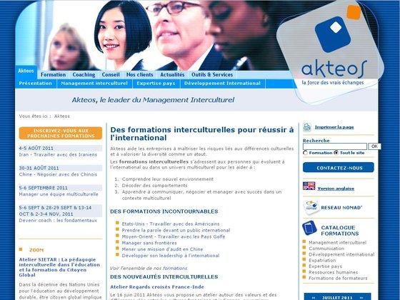 Akteos, Management interculturel