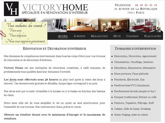 travaux de r novation. Black Bedroom Furniture Sets. Home Design Ideas