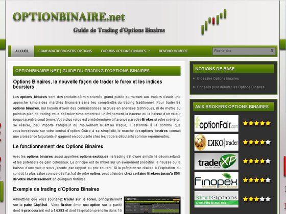 Simulation trading option binaire