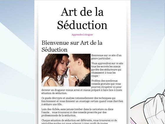 Art de la Séduction : guide de drague en ligne