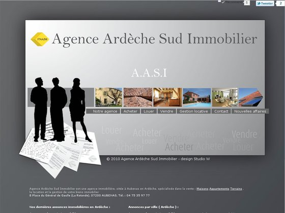 Agence Ardèche Sud Immobilier