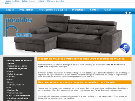 magasin de meubles haan et en ligne. Black Bedroom Furniture Sets. Home Design Ideas