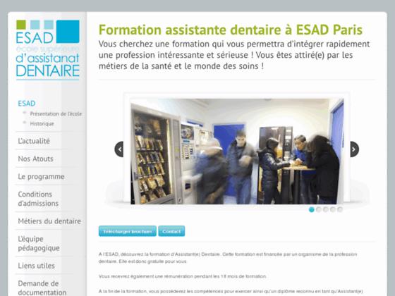 formation assistante dentaire   tous les renseignements