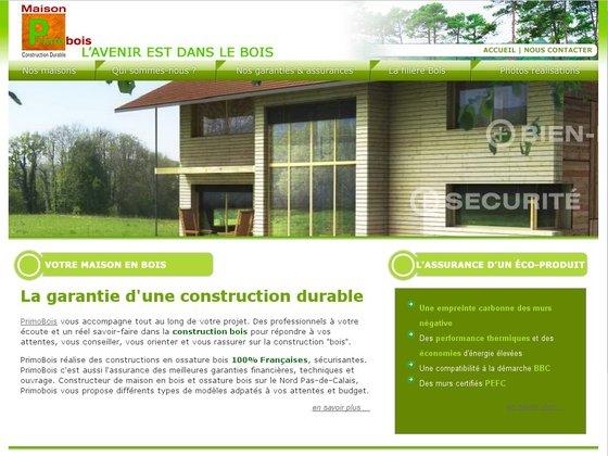 Primobois constructeur de maison en bois dans le pas de calais for Constructeur de maison en bois dans le 34