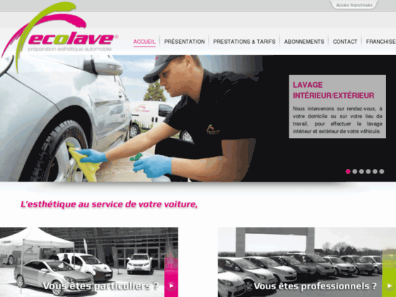 Lavage automobile sans eau
