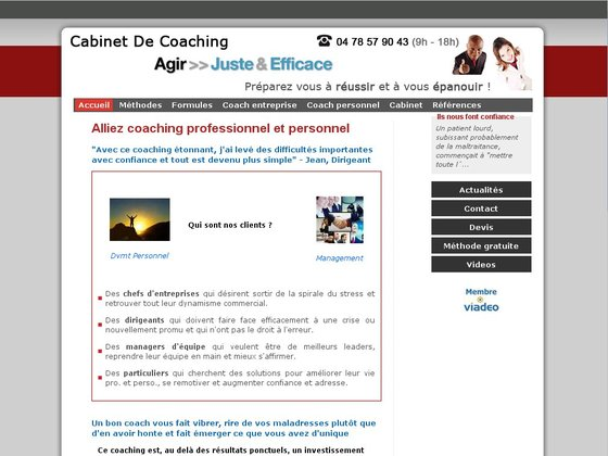 Cabinet de coaching professionnel