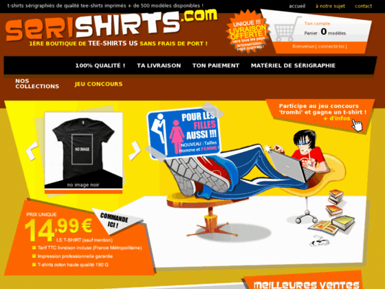 Serishirts la boutique de tee shirts américains made in france