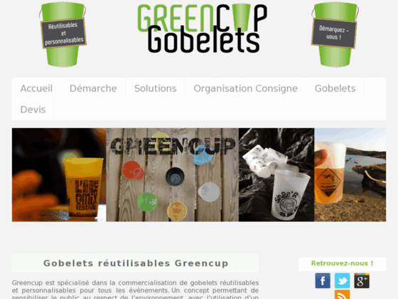 Gobelets réutilisables Greencup
