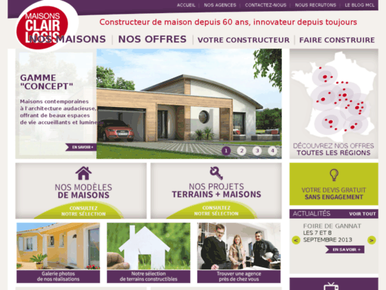 Maisons clair logis constructeur de maison individuelle for Constructeur de maison individuel
