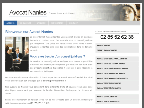 avocat nantes. Black Bedroom Furniture Sets. Home Design Ideas